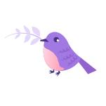 madame yoga oiseau logo