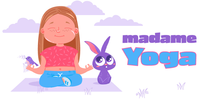 Capsules vidéo de yoga pour enfants